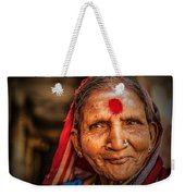 A Woman Of Faith Weekender Tote Bag