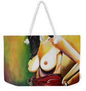 A Woman Weekender Tote Bag