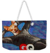 A Woman's Best Friend  Weekender Tote Bag