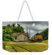 A Workhorse At The Madison Station Weekender Tote Bag