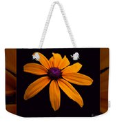 A Yellow Burst Of Sunshine Floral Photography Weekender Tote Bag