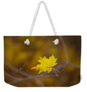 A Yellow One Weekender Tote Bag