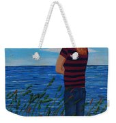 A Young Girl Dreaming Weekender Tote Bag