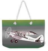 A1a Husky Aviat Airplane Weekender Tote Bag