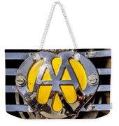 Aa Mu Emblem Weekender Tote Bag