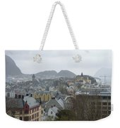 Aalesund From Above Weekender Tote Bag