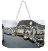 Aalesund Waterways Weekender Tote Bag