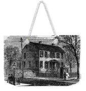 Aaron Burr Birthplace Weekender Tote Bag
