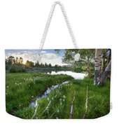 Abajo Mountains Near Montecello, Utah Weekender Tote Bag