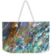 Abalone Abstract3 Weekender Tote Bag