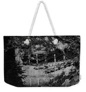 Abandoned And Forgotten Behind Trees Weekender Tote Bag