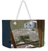 Abandoned Cabin Elkmont Smoky Mountains - Screened Door Old House Weekender Tote Bag