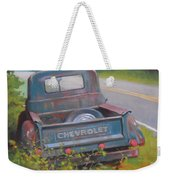 Abandoned Chevy Weekender Tote Bag