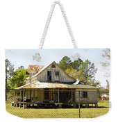 Old Abandoned Cracker Home Weekender Tote Bag