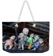 Abandoned Dolls Weekender Tote Bag