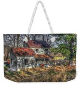 Abandoned Farmhouse Weekender Tote Bag