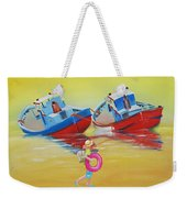 Abandoned Fishing Boats Tavira Weekender Tote Bag