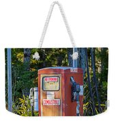 Abandoned Gas Pump Weekender Tote Bag