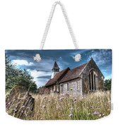 Abandoned Grave In The Churchyard Weekender Tote Bag