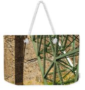 Abandoned Highway Vertical Weekender Tote Bag