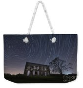 Abandoned History Star Trails Weekender Tote Bag by Michael Ver Sprill