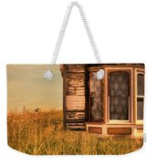 Abandoned House In Grass Weekender Tote Bag