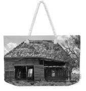 Abandoned In Black And White Weekender Tote Bag
