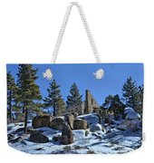 Abandoned On The Mountain Weekender Tote Bag