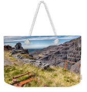 Abandoned Slate Quarry Weekender Tote Bag