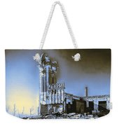 Abandoned Slaughterhouse In Winter Weekender Tote Bag