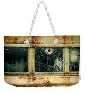 Abandoned Train Car Weekender Tote Bag