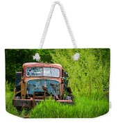 Abandoned Truck In Rural Michigan Weekender Tote Bag