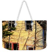 Abandoned Yellow House Weekender Tote Bag