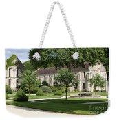 Abbey Fontenay Burgundy Weekender Tote Bag