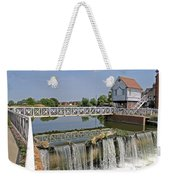 Abbey Mill And Weir Weekender Tote Bag
