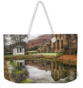 Abbey Reflection Weekender Tote Bag by Adrian Evans