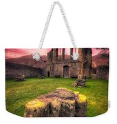 Abbey Ruin Weekender Tote Bag