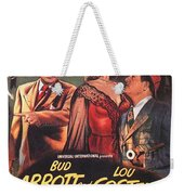 Abbott And Costello Meet The Invisible Man  Weekender Tote Bag