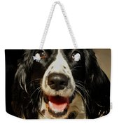 Abby's Sweet Smiling Face Weekender Tote Bag