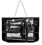 Abe Lincoln In Black And White Weekender Tote Bag