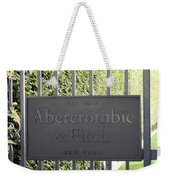Abercrombie And Fitch Store In Paris France Weekender Tote Bag