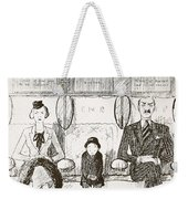 Ability To Be Ruthless, Illustration Weekender Tote Bag