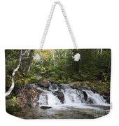 Abol Falls 4392 Weekender Tote Bag