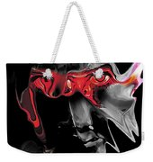 About Face Abstract Portrait Weekender Tote Bag