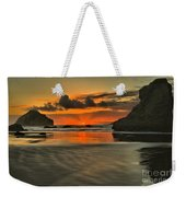 About To Go Out Weekender Tote Bag