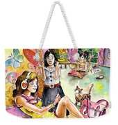 About Women And Girls 03 Weekender Tote Bag