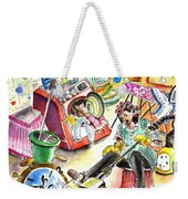 About Women And Girls 05 Weekender Tote Bag by Miki De Goodaboom