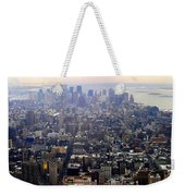 Above New York Weekender Tote Bag