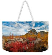 Above The Arctic Circle Weekender Tote Bag