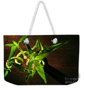 Above The Bamboo Weekender Tote Bag